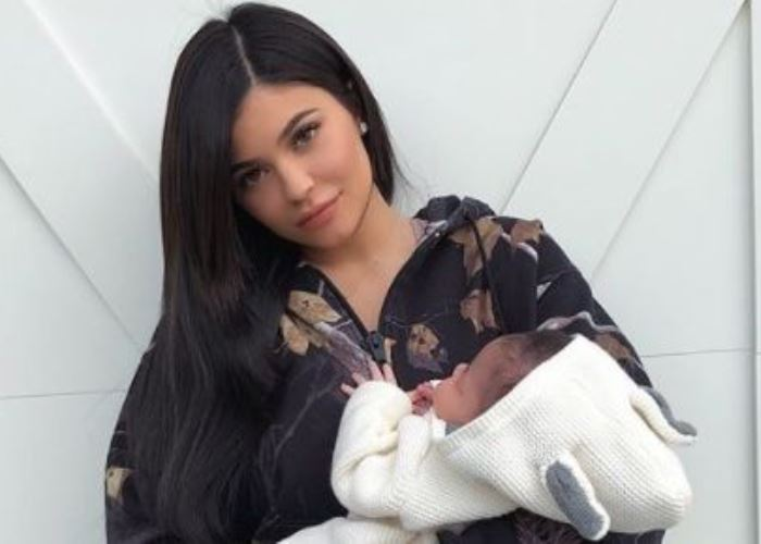 Stormi Webster up close! Kylie Jenner Snapchats with her baby girl