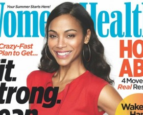 Zoe Saldana Says Views About Diet, Exercise Have Evolved--With Good Reason (Photos!)